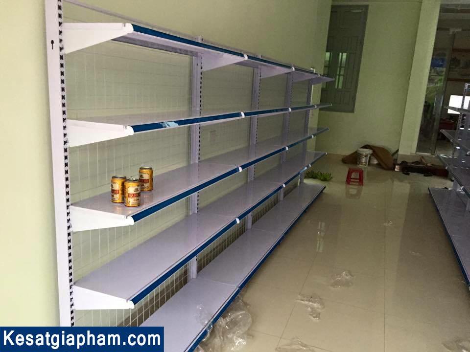 kệ siêu thị-giá kệ siêu thị đơn - kệ sắt Gia Phạm