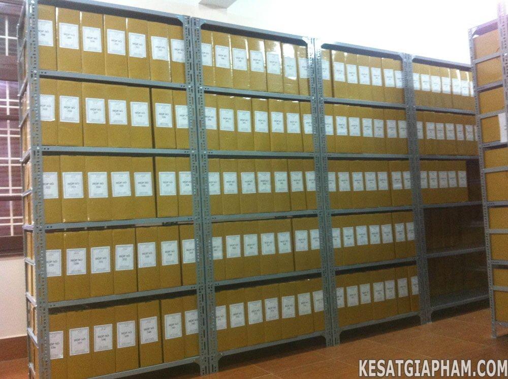 Kệ đựng tài liệu lưu trữ, ke dung tai lieu luu tru