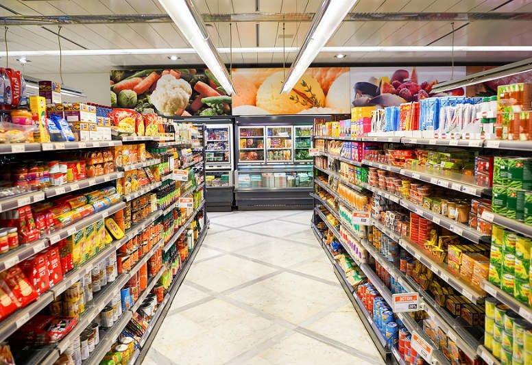Kệ để hàng siêu thị - ke de hang sieu thi