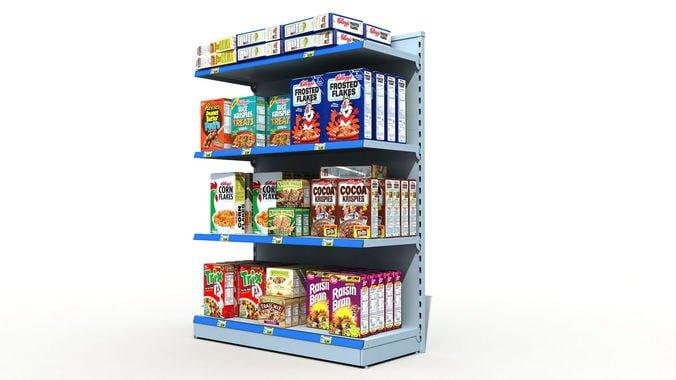 Kệ siêu thị đơn - ke sieu thi dep
