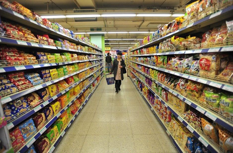 kệ siêu thị mini - ke sieu thi mini