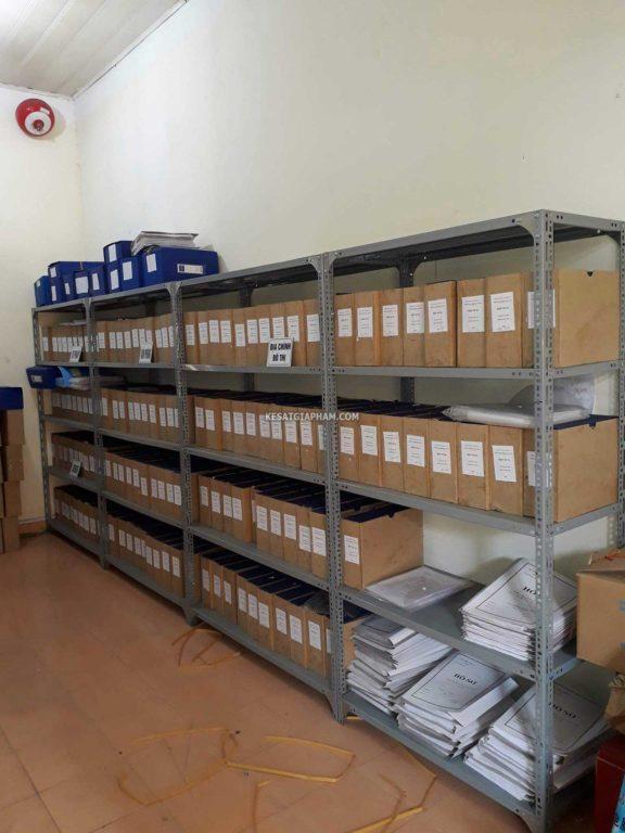kệ sắt để hồ sơ tài liệu