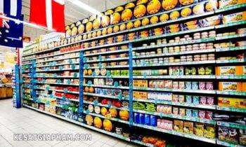 Kệ siêu thị - ke sieu thi