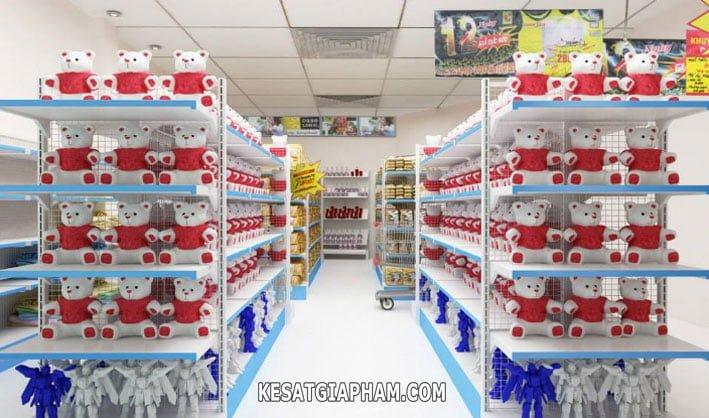 Kệ siêu thị ở hà nội