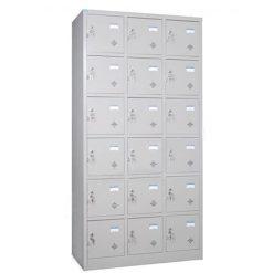 tủ locker 18 ngăn