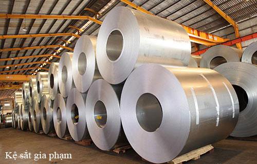 Tôn thép sản xuất giá kệ sắt