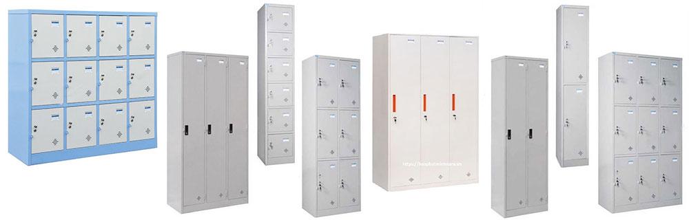 Phân loại tủ locker